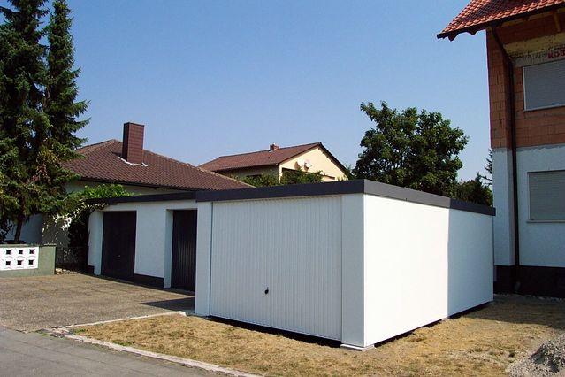 garagen garage fertiggarage nach ma und ihrer skizze ebay. Black Bedroom Furniture Sets. Home Design Ideas