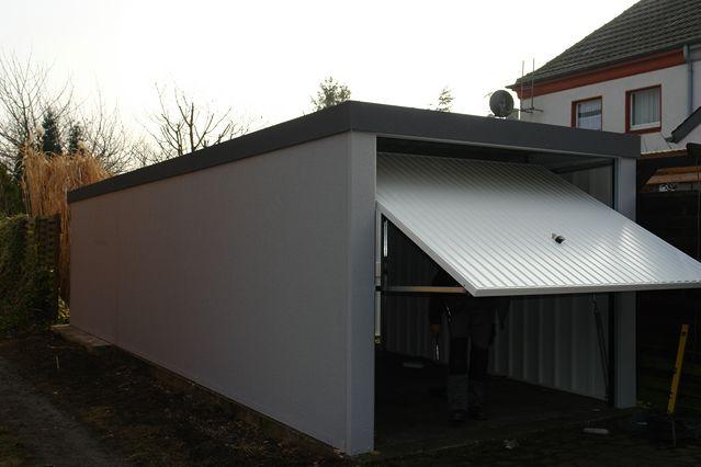 fertiggarage 2 95x 6 95x 2 72m garage fertiggaragen 1a mit. Black Bedroom Furniture Sets. Home Design Ideas
